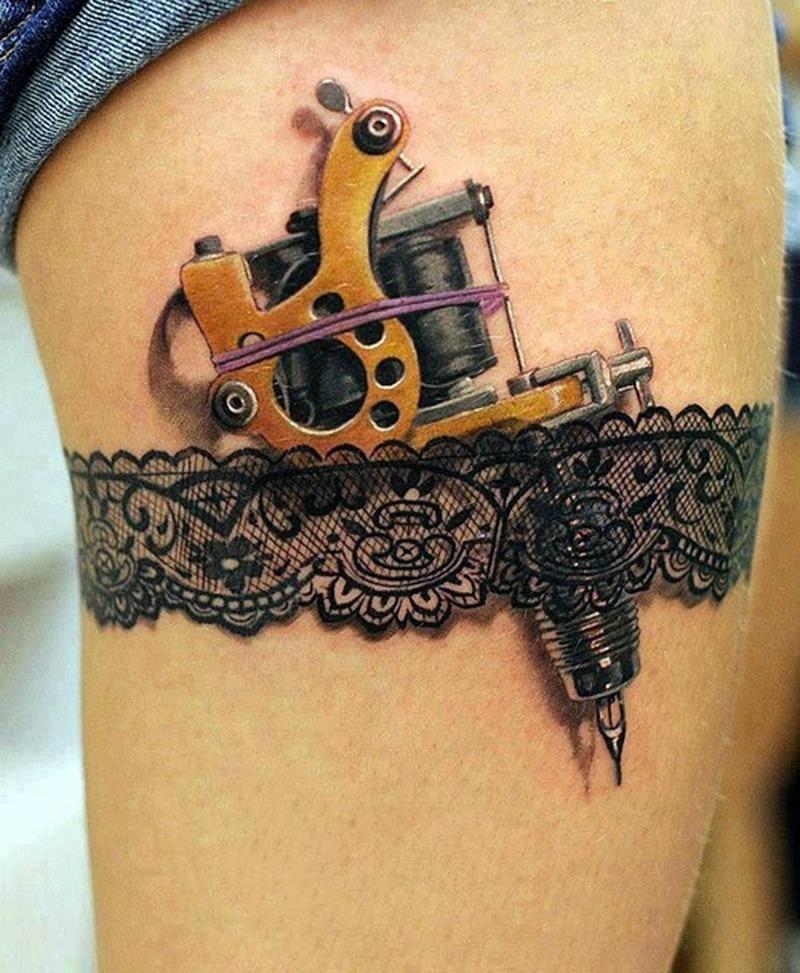 Funny tattoo design for women