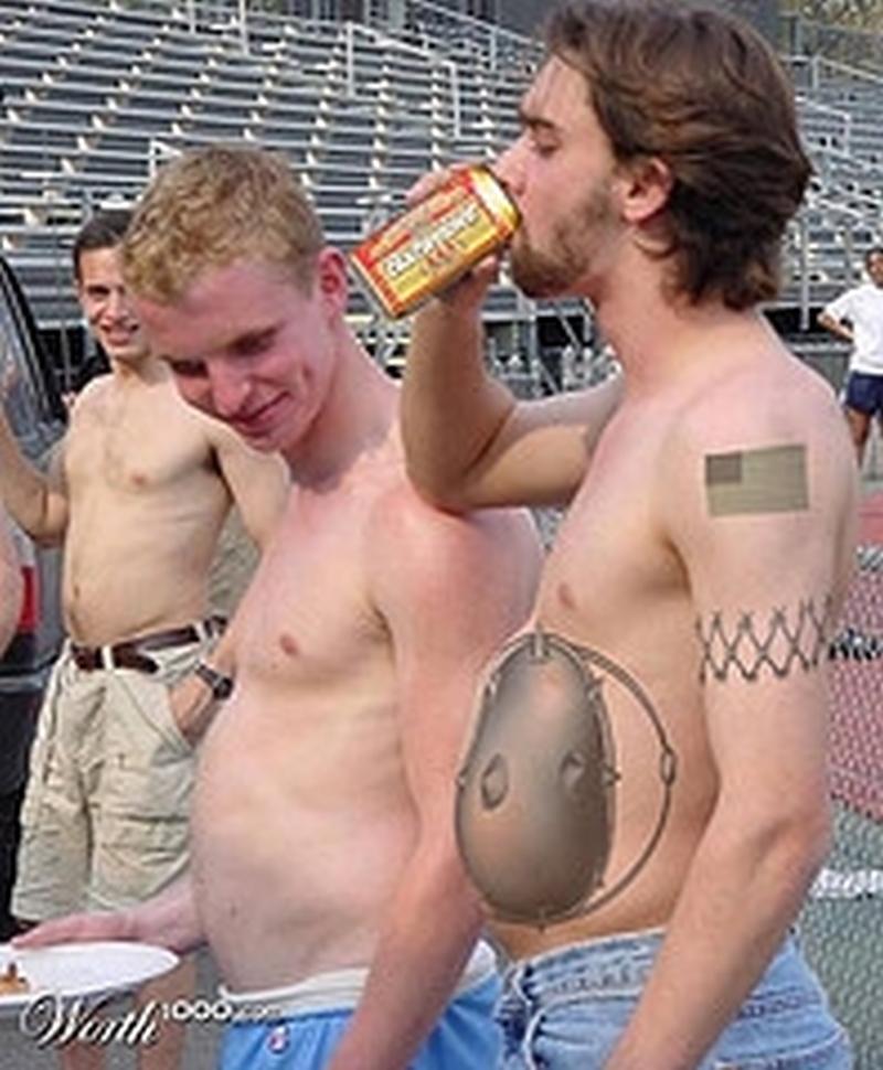 Funny tattoo designs for men
