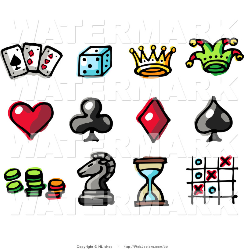 Gambling tattoo clip art