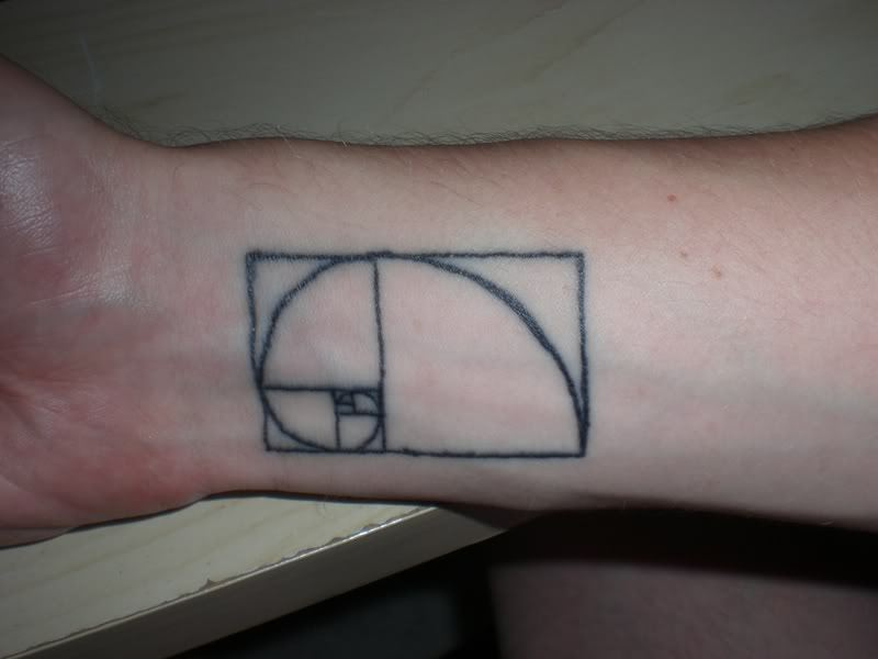 Geeky tattoo on wrist 2
