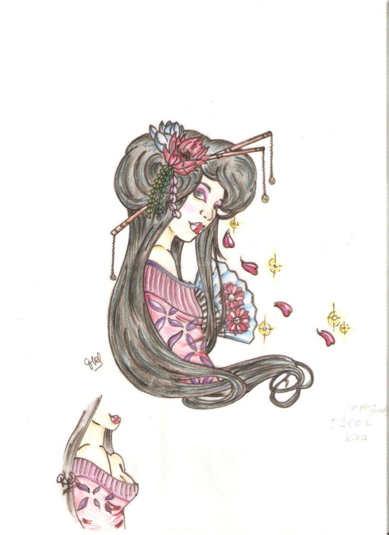 Geisha tattoo project