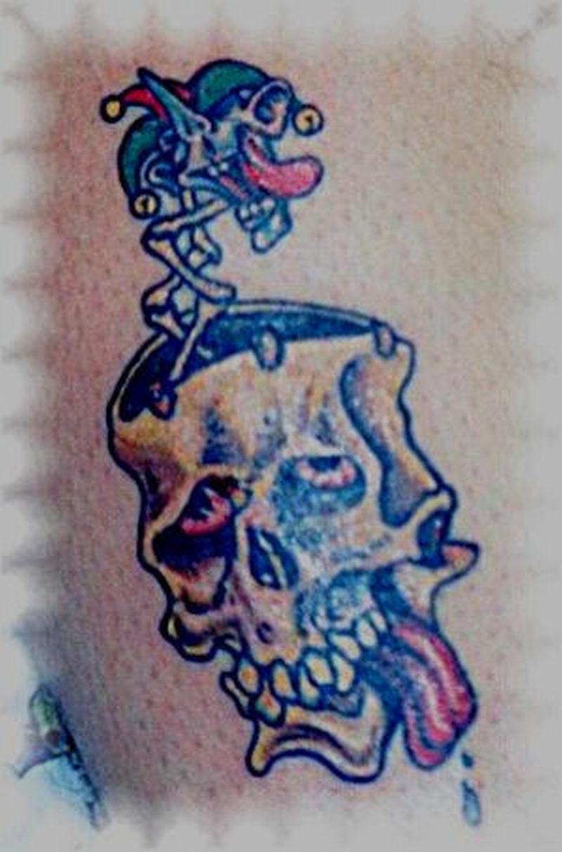 Gena joker tattoo design