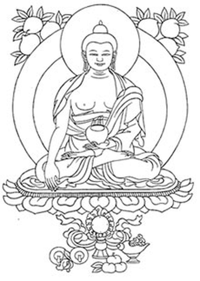 Good buddha tattoo design