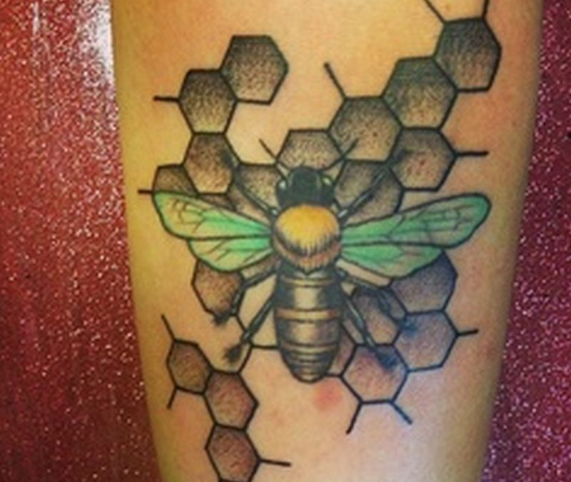 Good bumblebee tattoo