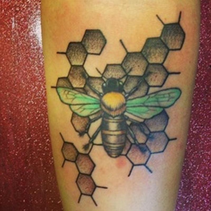 Good bumblebee tattoo