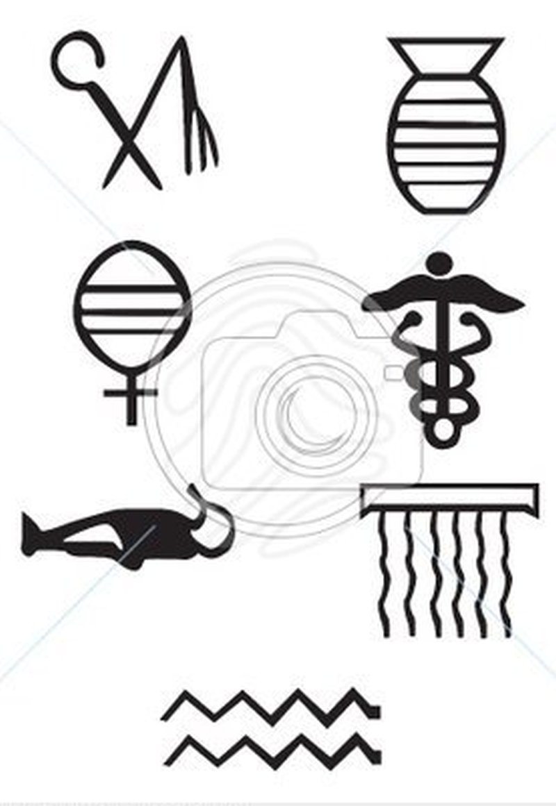 Greek signs and symbols tattoo models