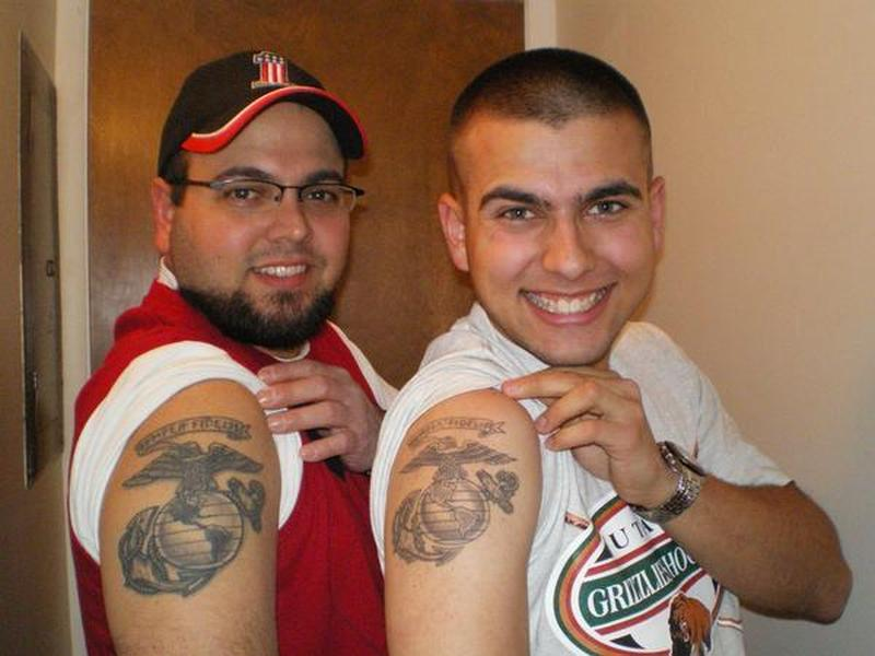 Guys Showing Army Tattoo Designs Tattoos Book 65 000 Tattoos Designs