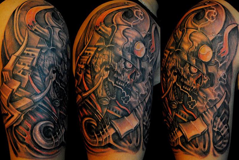 half sleeve biomechanical tattoo designs tattoos book tattoos designs. Black Bedroom Furniture Sets. Home Design Ideas