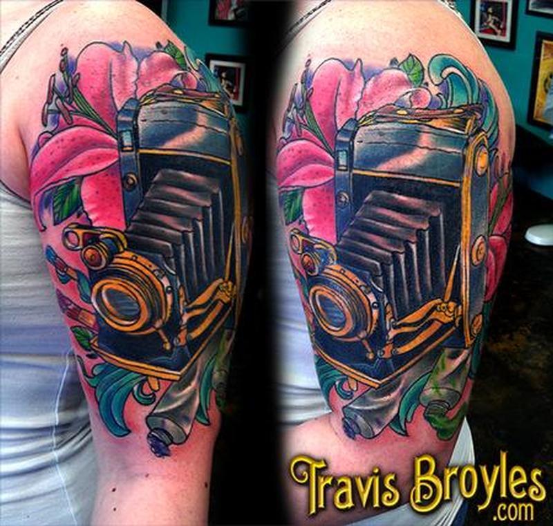 d0a454695 Brilliant half sleeve biomechanical tattoo design - Tattoos Book ...
