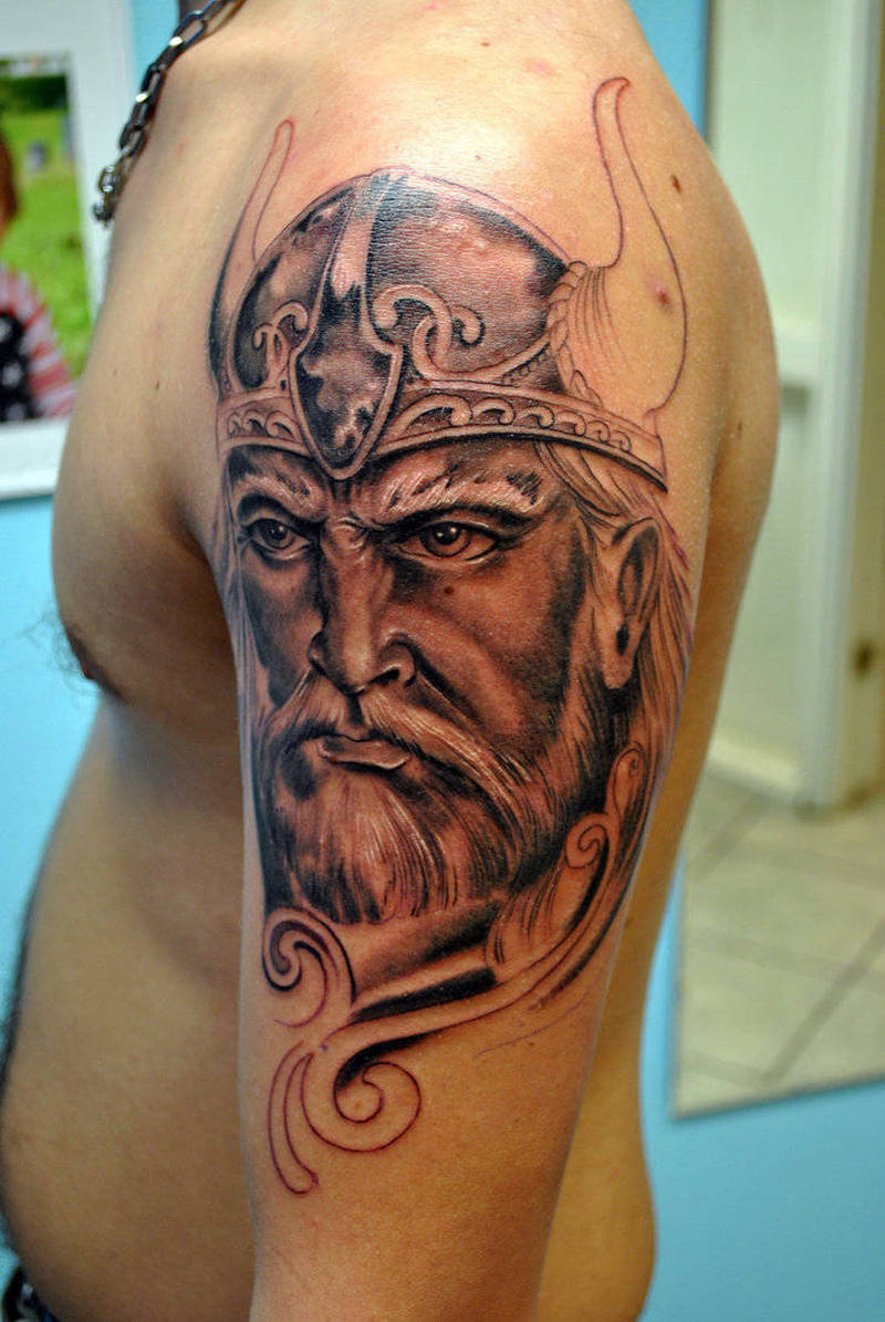 Half Sleeve Viking Tattoo Design For Men Tattoos Book 65 000