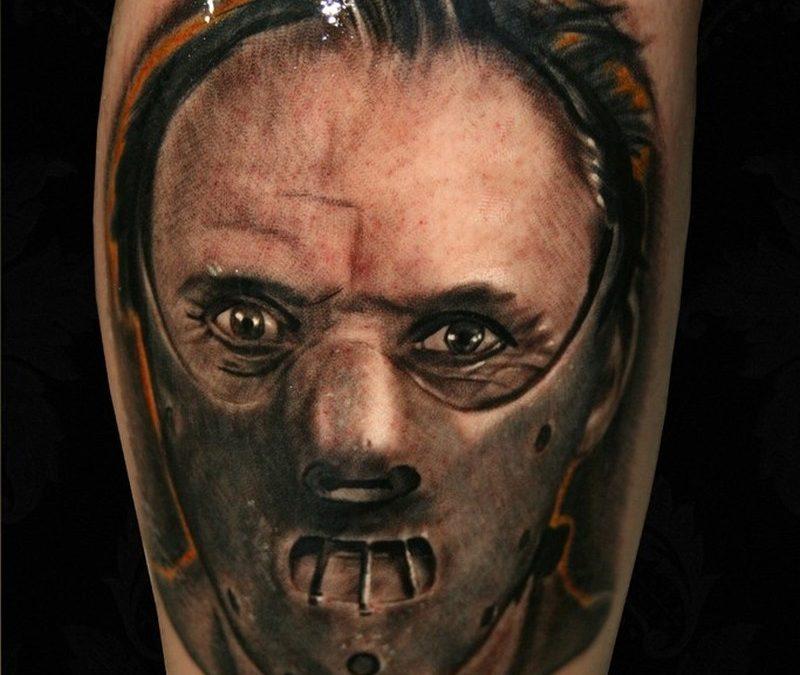 Hannibal horror tattoo design