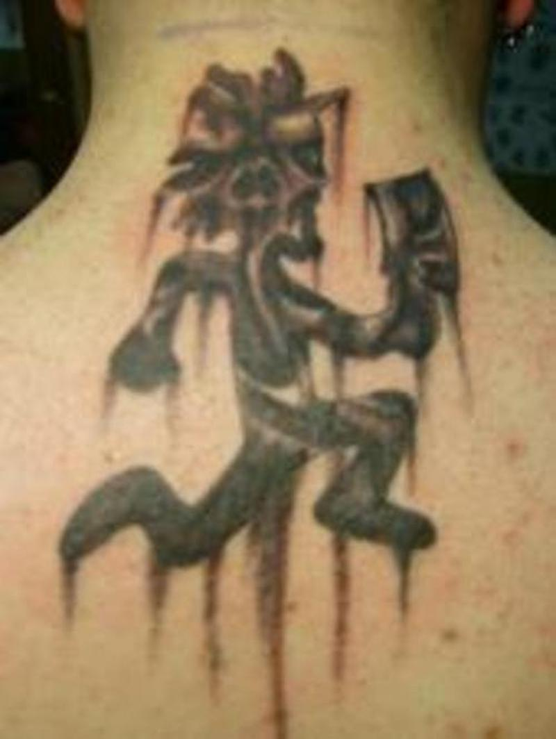 98b7a5f8f Hatchetman icp tattoo on back neck - Tattoos Book - 65.000 Tattoos ...