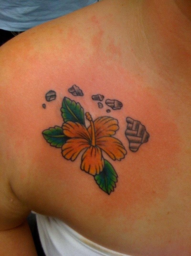 hawaiian flower n islands tattoo design tattoos book tattoos designs. Black Bedroom Furniture Sets. Home Design Ideas
