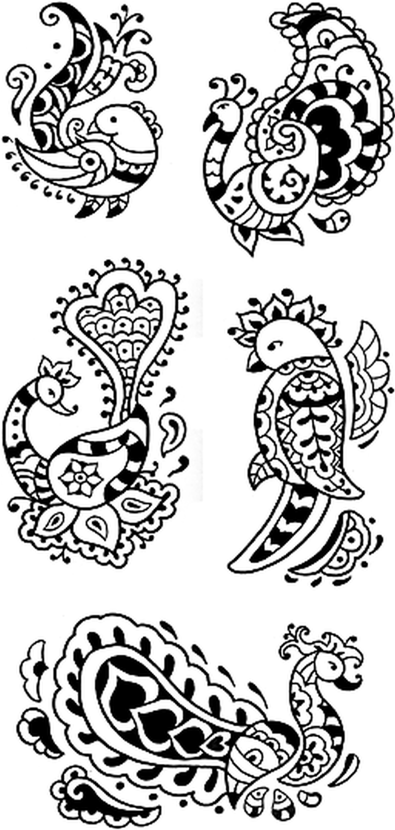 henna birds raven dove swallow eagle tattoo designs tattoos book tattoos designs. Black Bedroom Furniture Sets. Home Design Ideas