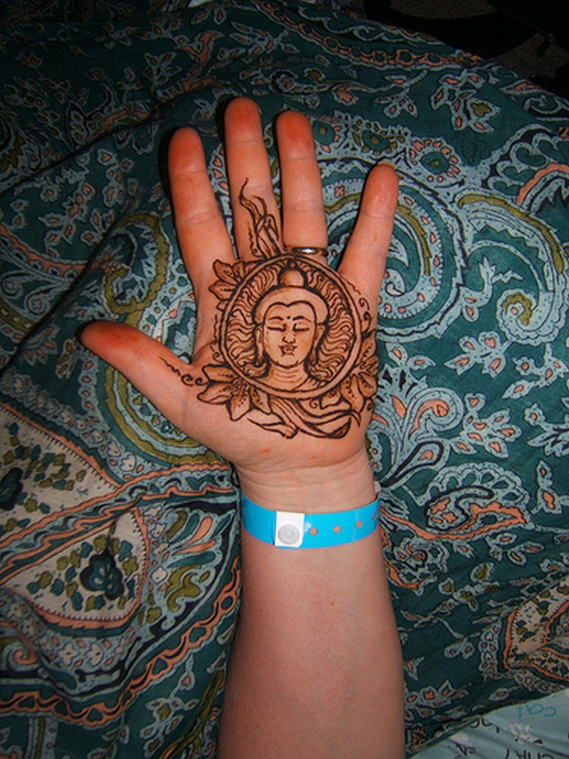 henna buddha tattoo on palm tattoos book tattoos designs. Black Bedroom Furniture Sets. Home Design Ideas