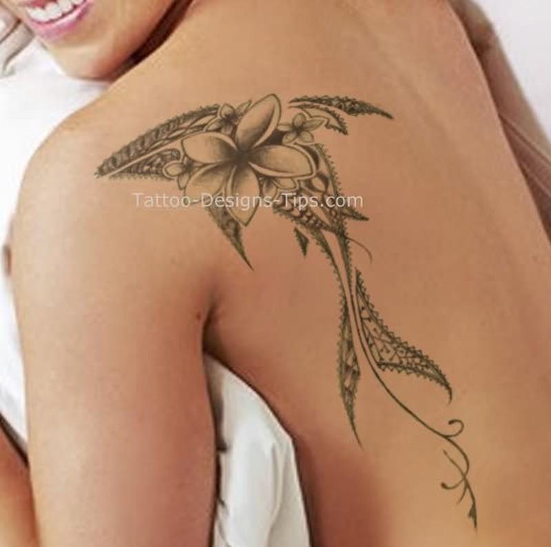 Henna Shark Tattoo On Back Shoulder For Girls Tattoos Book