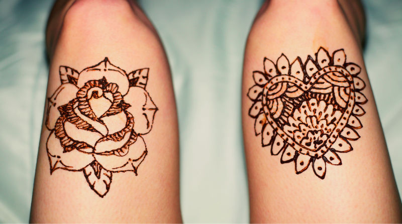 Henna tattoo designs for legs