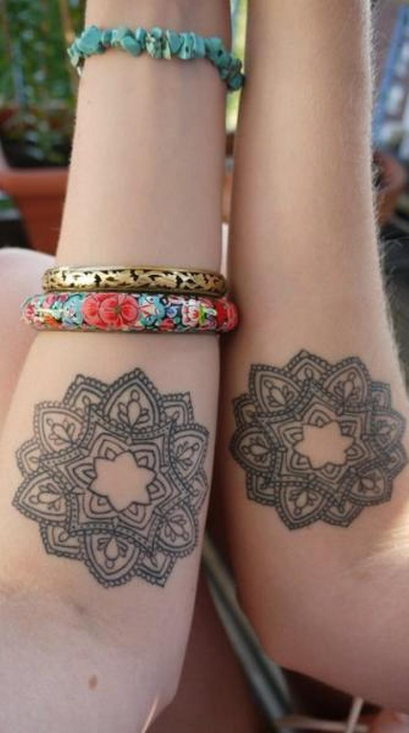 Hinduism mandalas tattoo designs