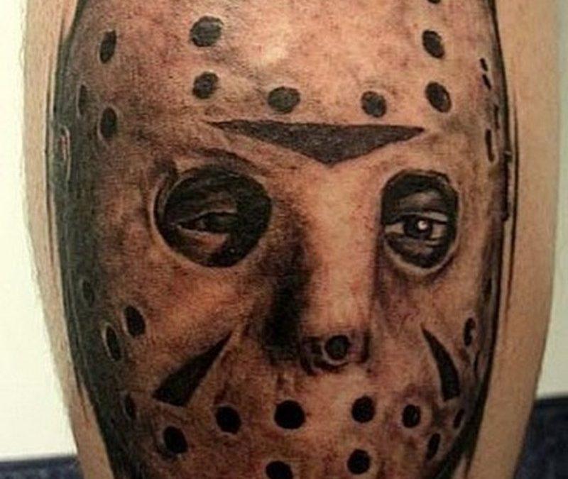 Horror jason tattoo design