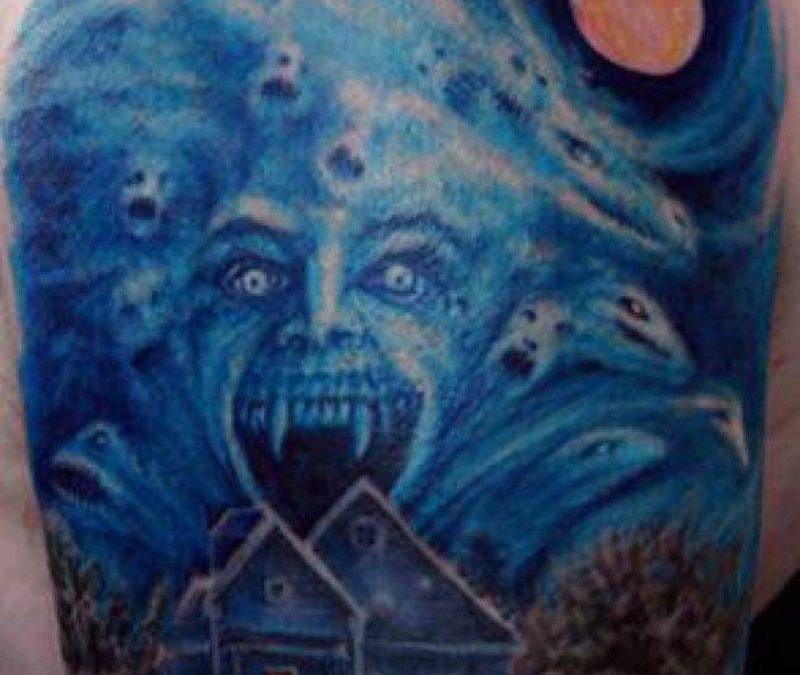 Horror night tattoo picture