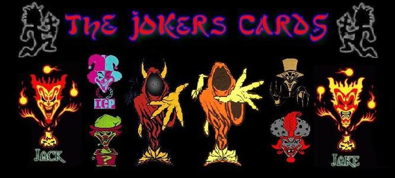 Icp joker card tattoo design