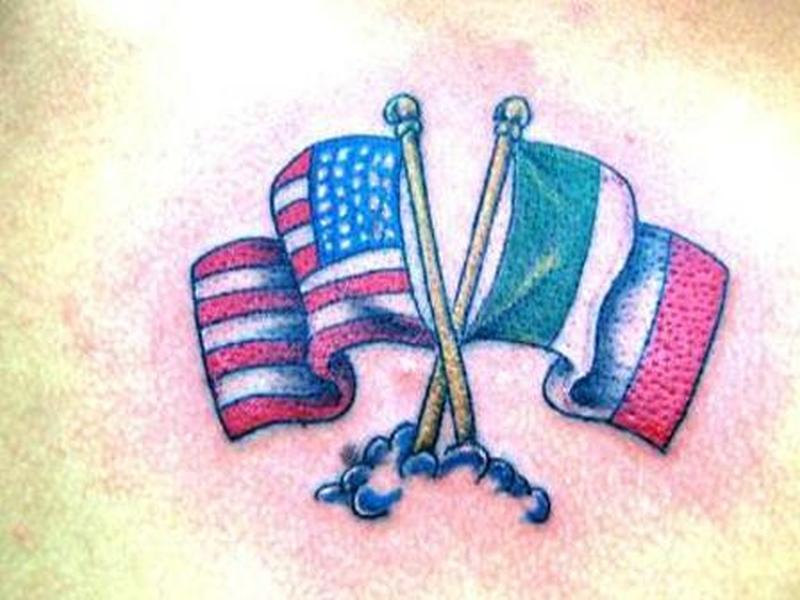 International flags tattoo design 2