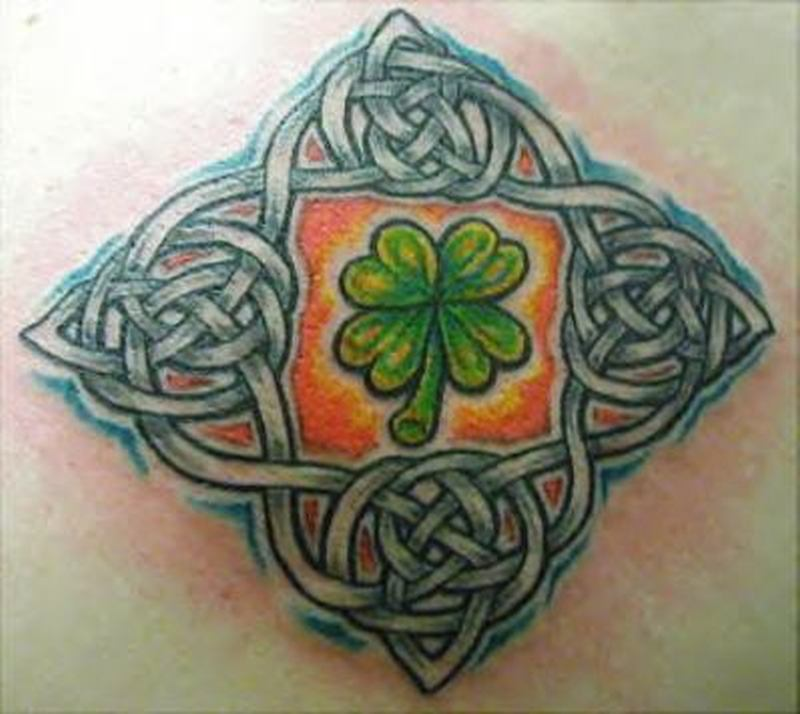 Irish celtic design 2 tattoo