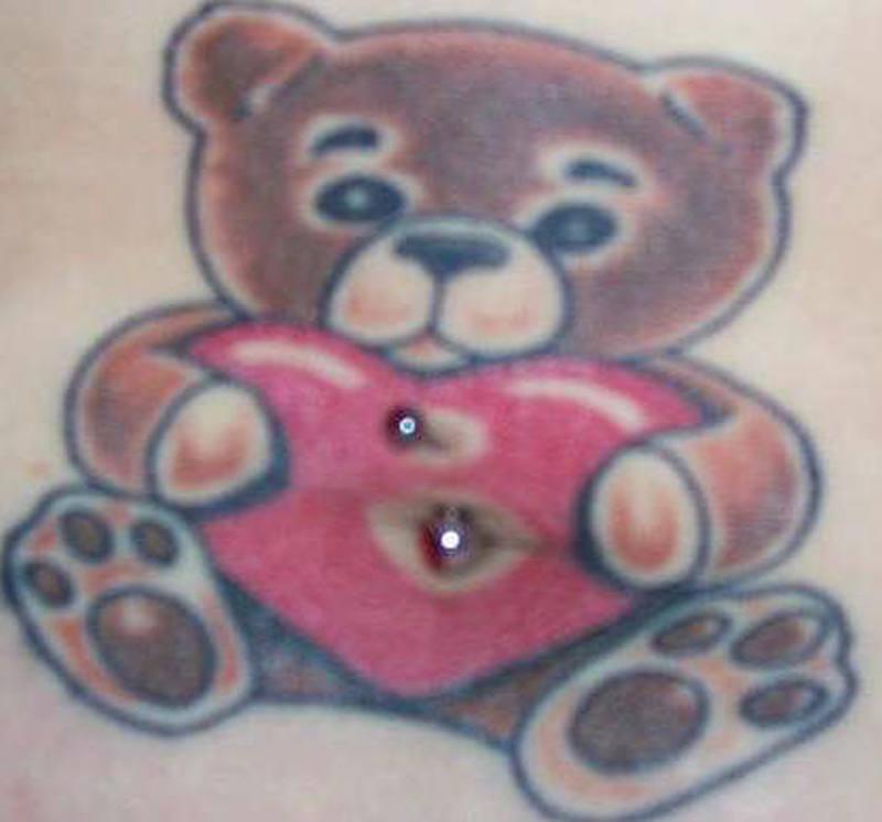 Japanese bear tattoo design