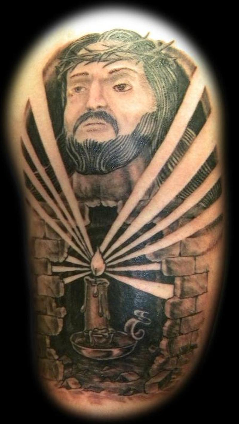 jesus cave design tattoo tattoos book tattoos designs. Black Bedroom Furniture Sets. Home Design Ideas