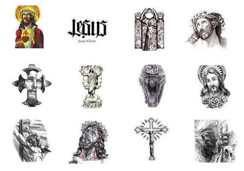 Jesus tattoo pack