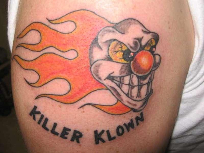killerclowntattoo � tattoos book