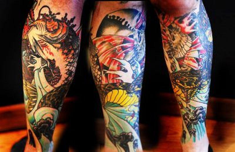 Koi Fish Tattoo On Leg Tattoos Book 65 000 Tattoos Designs