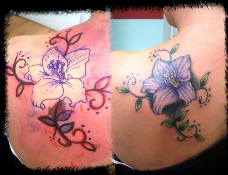 fa1180a035ff1 Lily flower tattoo pictures - Tattoos Book - 65.000 Tattoos Designs