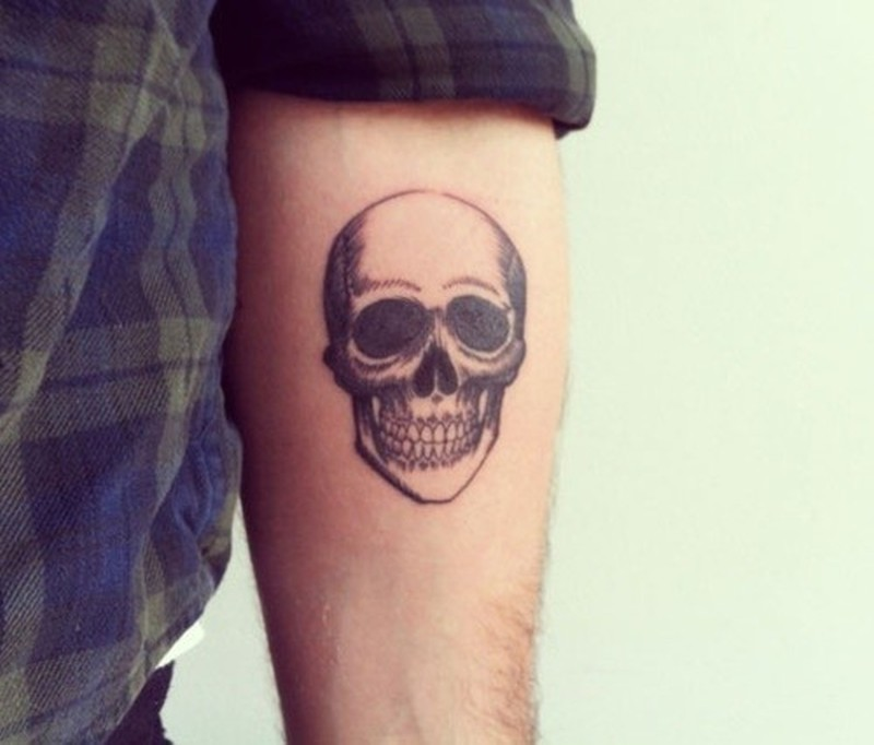 773f52ccc Little skull forearm tattoo - Tattoos Book - 65.000 Tattoos Designs