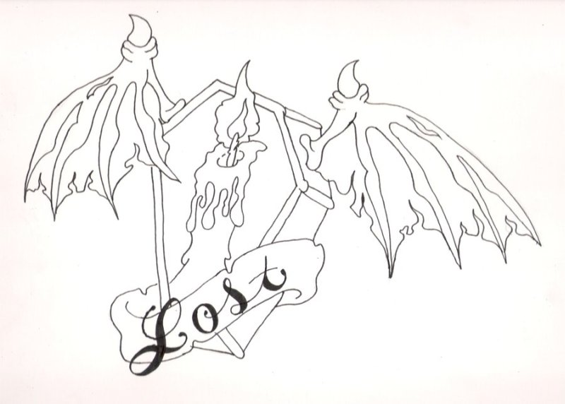 Graveyard Tattoo Drawings