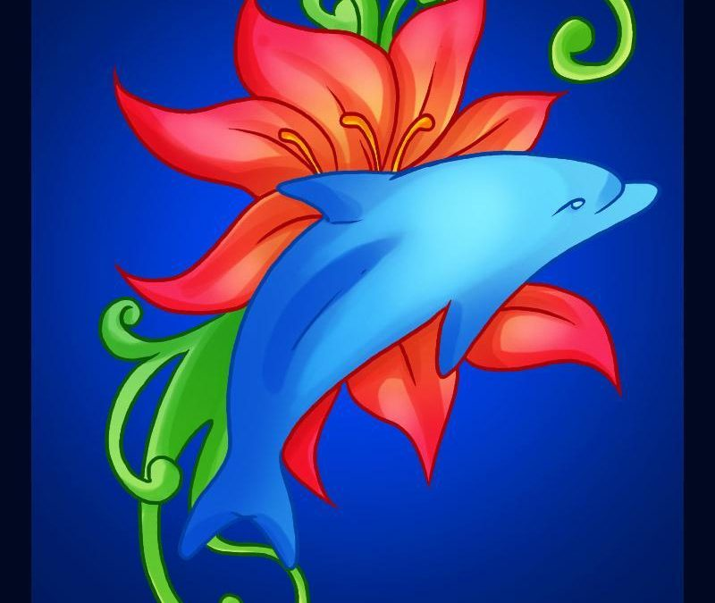 Lovely dolphin picture 2 tattoo