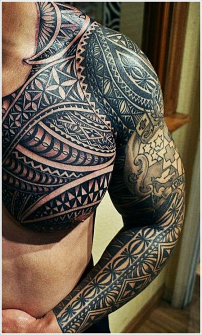 Maori tribal design