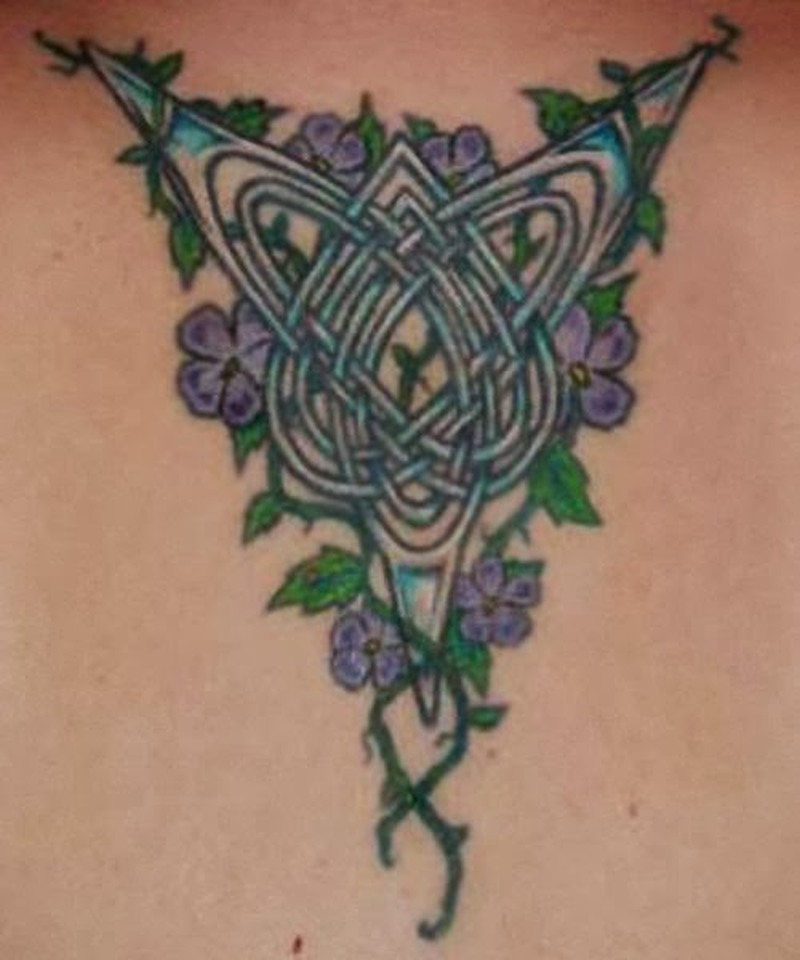 Most beneficial celtic cross tattoos 4