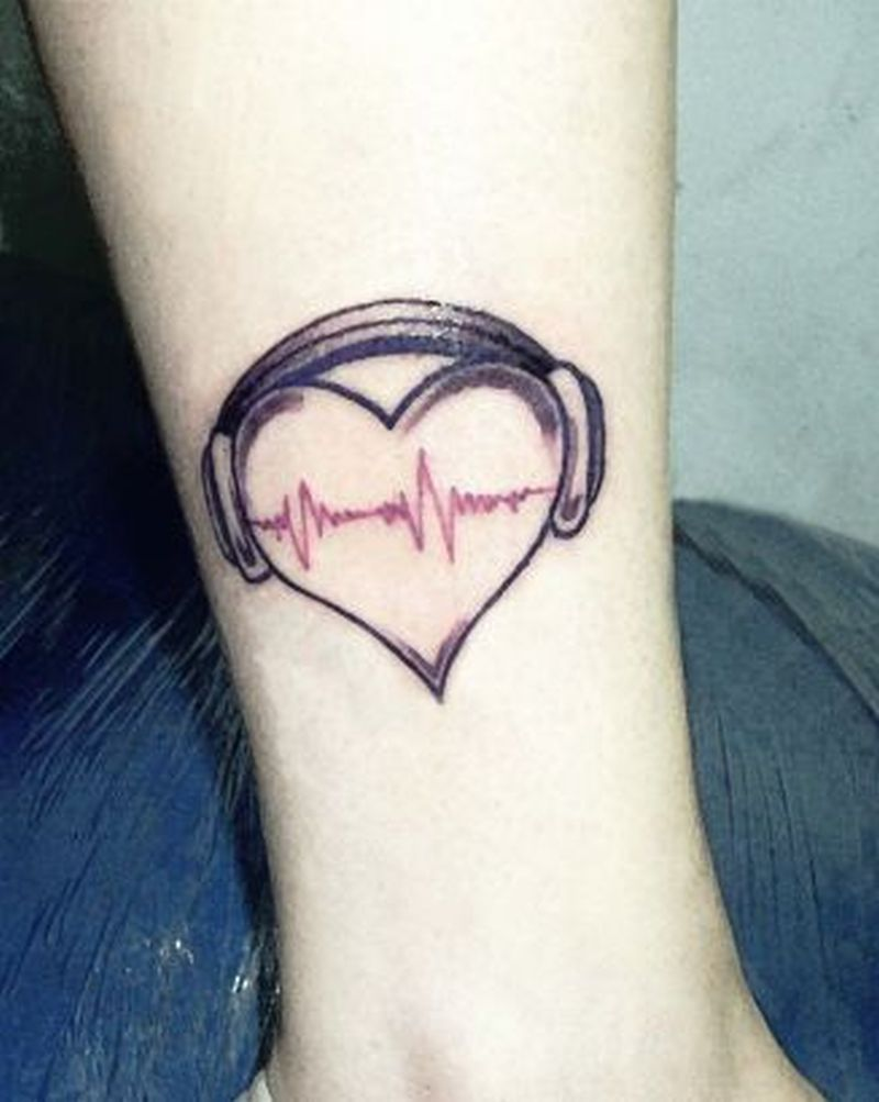 music heart tattoo design for girls tattoos book tattoos designs. Black Bedroom Furniture Sets. Home Design Ideas