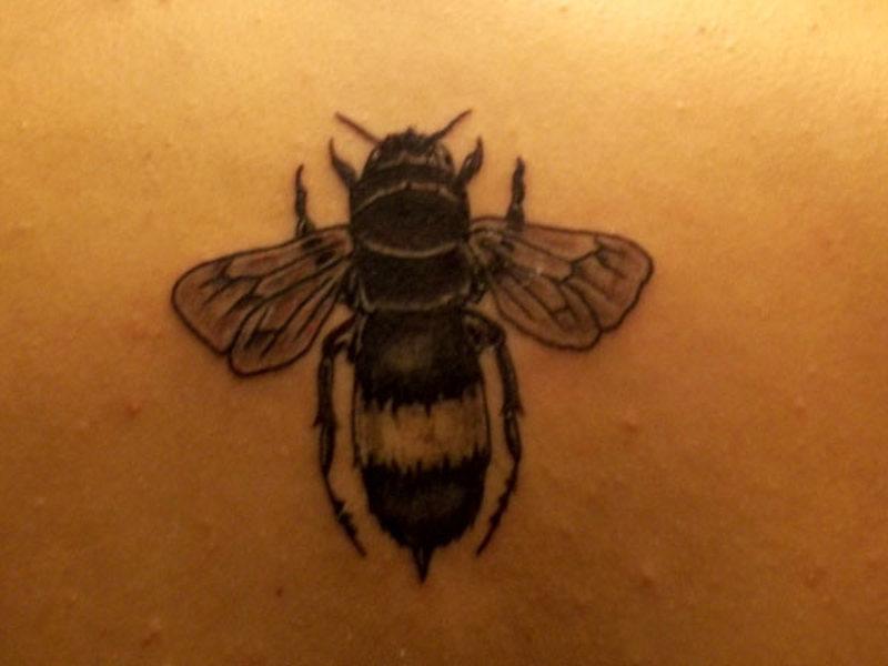 My bumblebee tattoo design