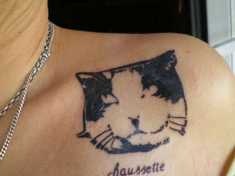My lovely cat tattoo