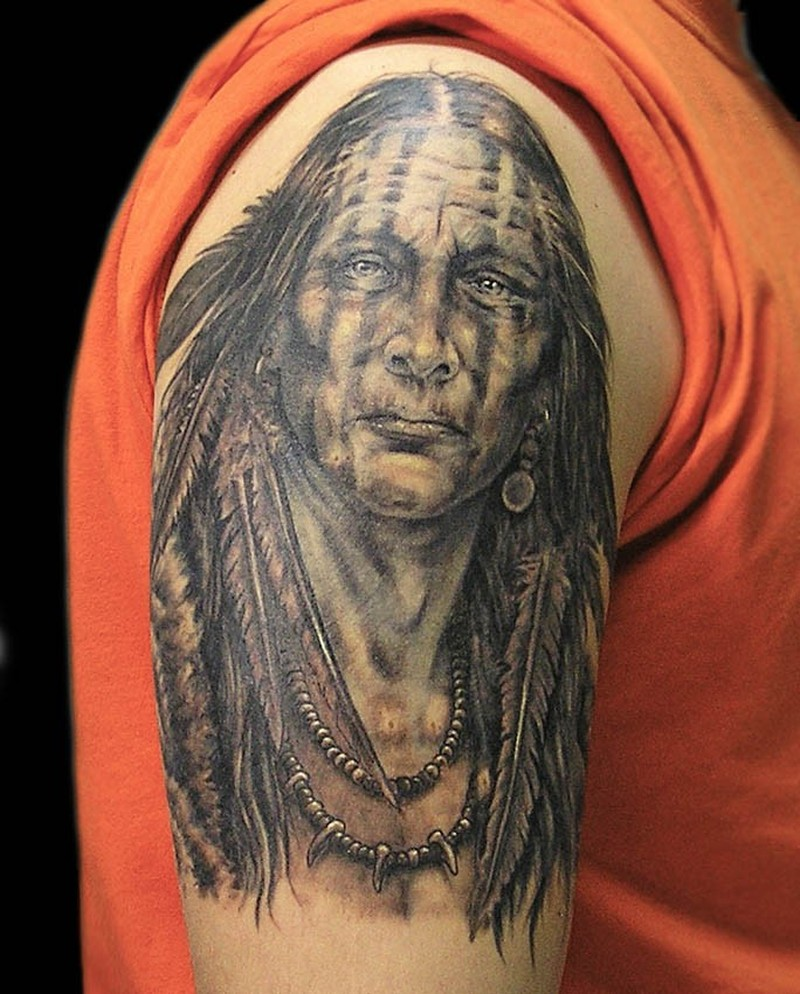 Фото индейцев тату