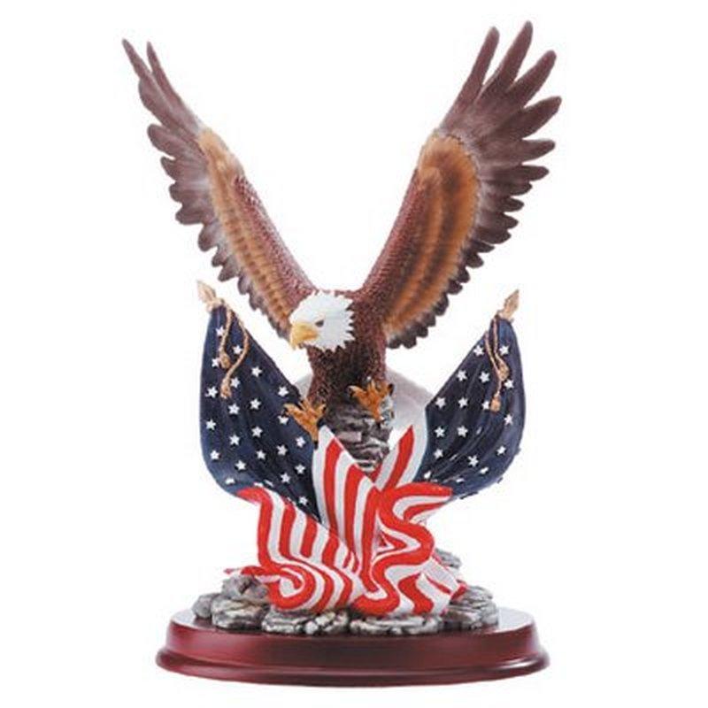 Patriotic eagle tattoo picture