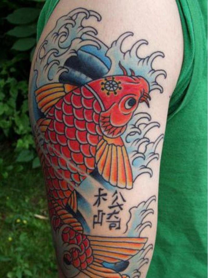 Fish tattoos - Page 6 of 8 - Tattoos Book - 65.000 Tattoo Designs