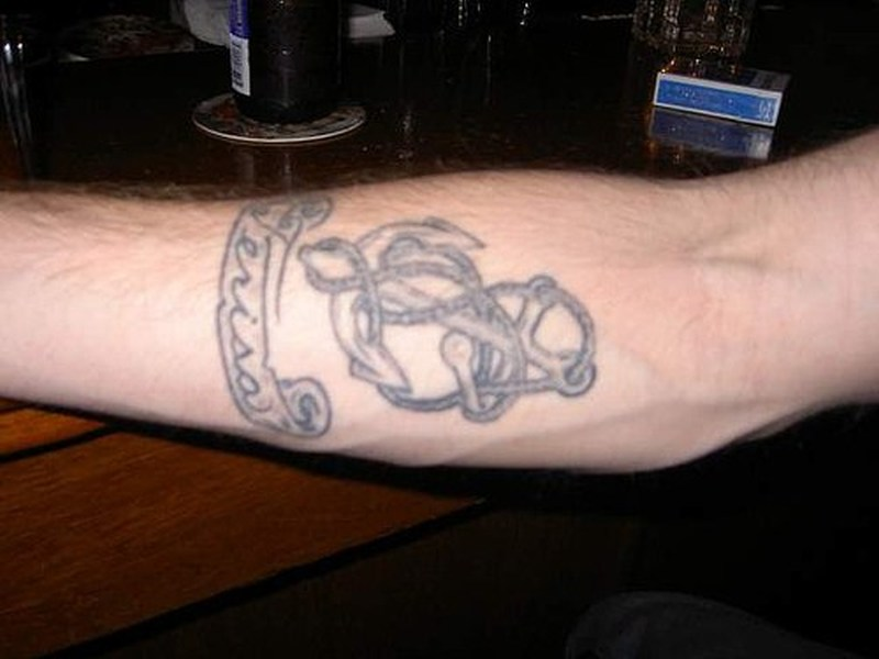 587cdd04b25f6 Rope anchor tattoo - Tattoos Book - 65.000 Tattoos Designs