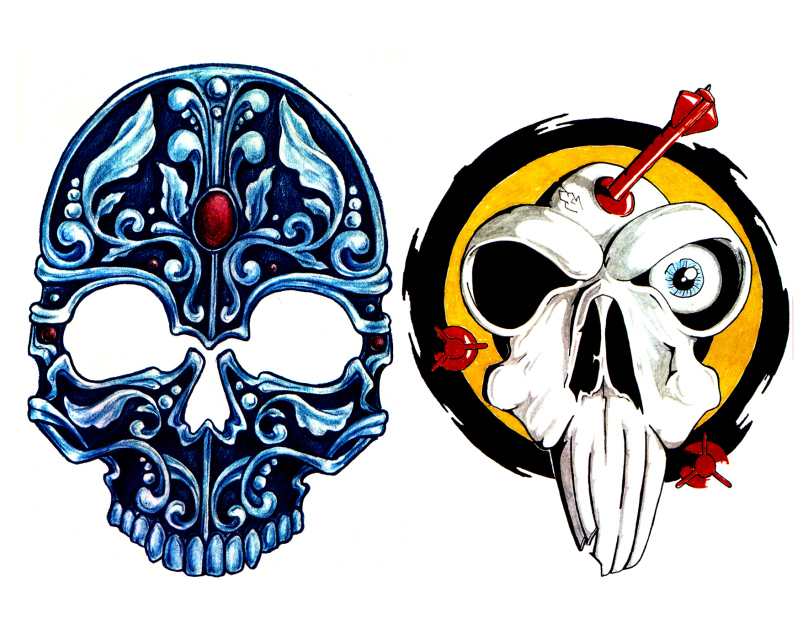 Skull N Demon Tattoo Designs Tattoos Book 65 000 Tattoos