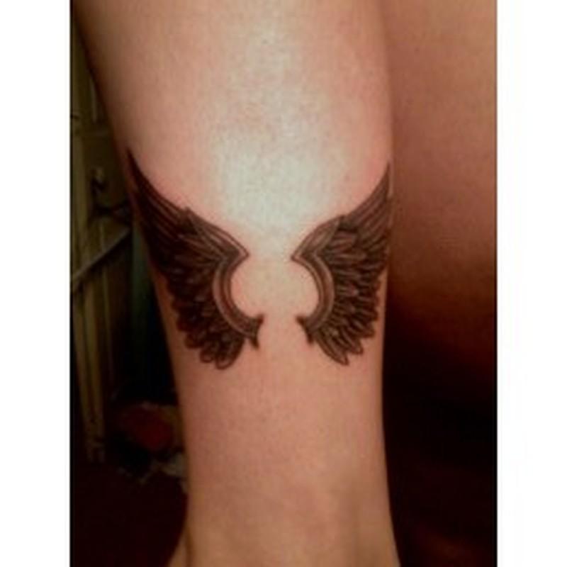 Small angel wings tattoo - Tattoos Book - 65.000 Tattoos Designs