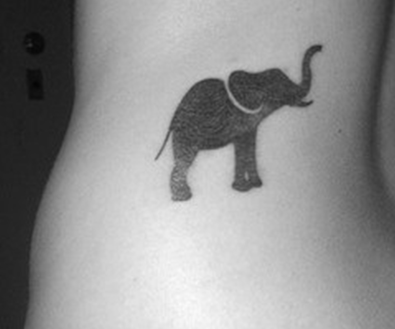 small but mighty elephant tattoo tattoos book. Black Bedroom Furniture Sets. Home Design Ideas