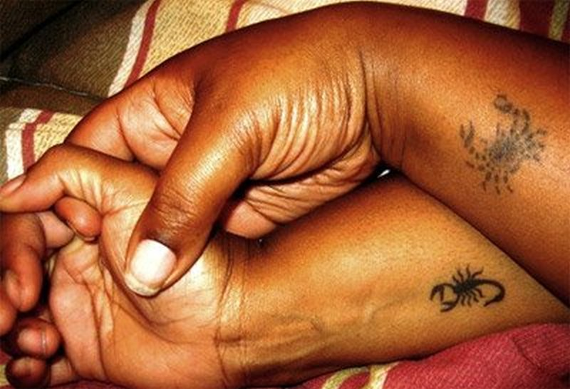 Small crab scorpion tattoo designs