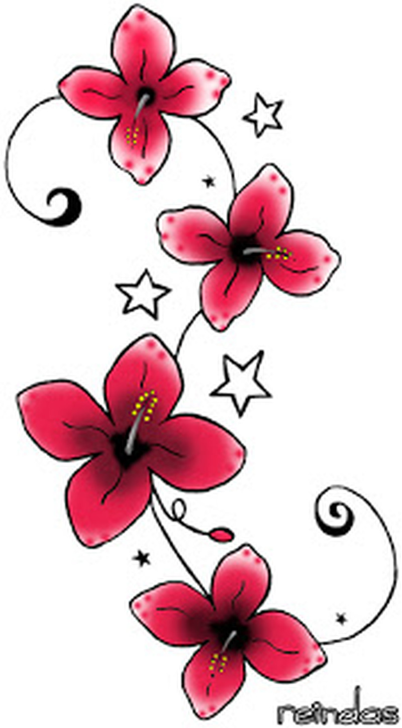 Small flower tattoo designs